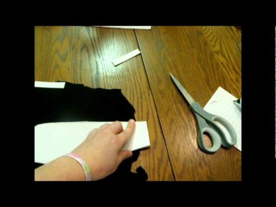 How to Make a Gothic Lolita Rabbit Ear Hat Part 1