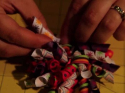 How To Make A Korker Ribbon Bow