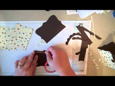 How to make a Purse Shaped Gift Card Holder
