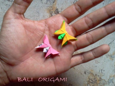 How to make Origami Butterfly ( Michael G Lafosse )