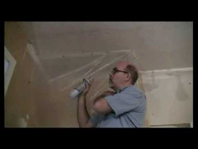 How to Repair Popcorn Ceilings