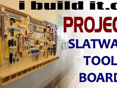 Making A Slatwall Tool Board