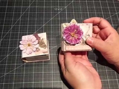 Mini Shadow Box Book.Tutorial