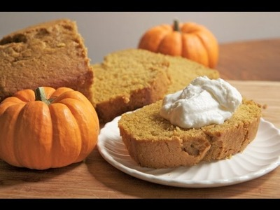 Moist & Fluffy Pumpkin Bread Recipe - How to make Pumpkin Bread