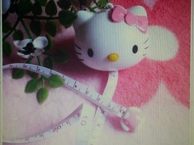 "My New ""Hello Kitty"" Tape Measure"