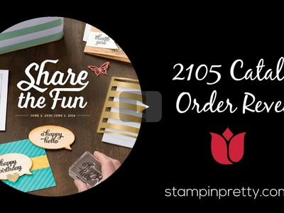 My Stampin' Up! 2015 Catalog Order Revealed!