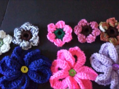 New Crochet Flower Designs April 2014
