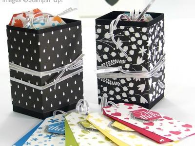 Perpetual Birthday Calendar Tags Box Tutorial