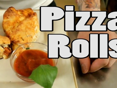 Pizza Roll Recipe | Vegan | The Vegan Zombie