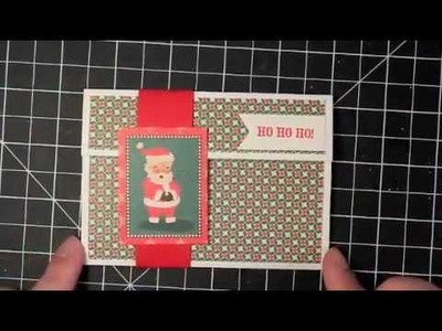 Quick and Easy Christmas Gift Card Holder
