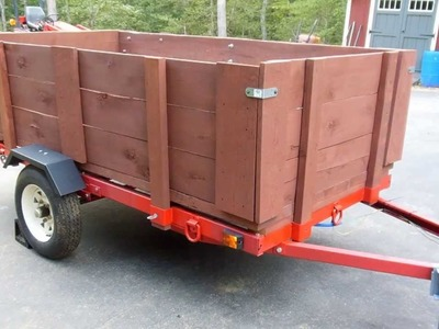 """UPDATE 1: Harbor Freight 1720 Lb. Capacity 48"""" x 96"""" Super Duty Utility Trailer Build Out"""