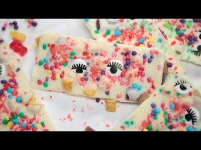 White Chocolate Bars With Pop Rocks | Just Add Sugar