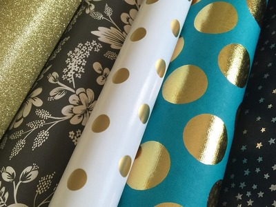 Wrapping Paper & Fine Art Paper Haul from Paper Source