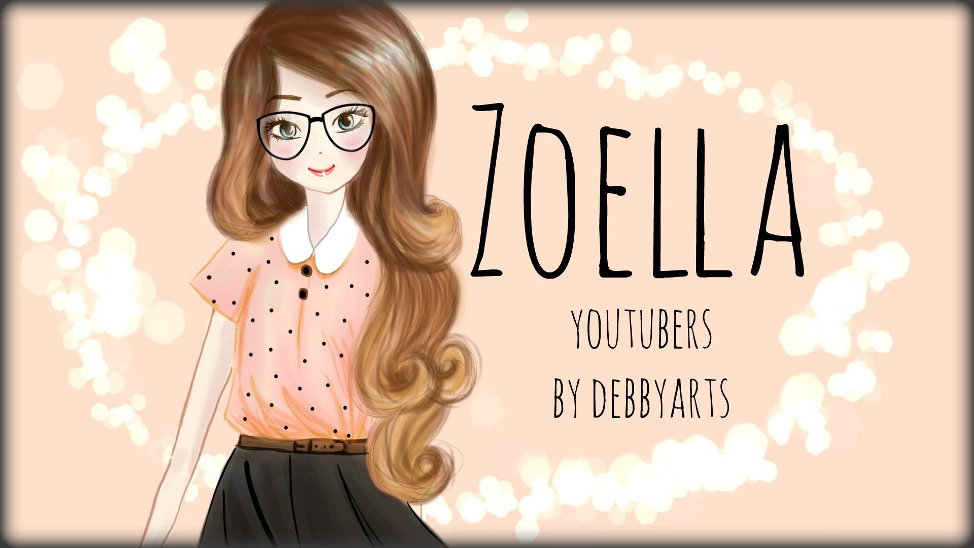 zoella drawing by debbyarts