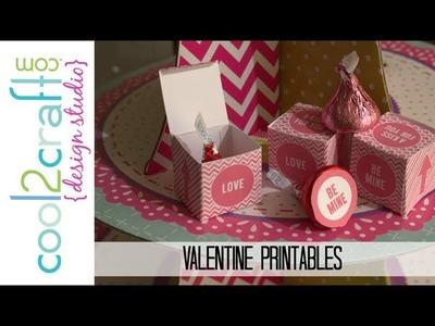 11 DIY Valentine Printable Ideas