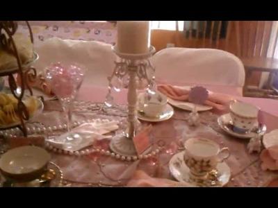 A Very Shabby Chic Princess Tea Party