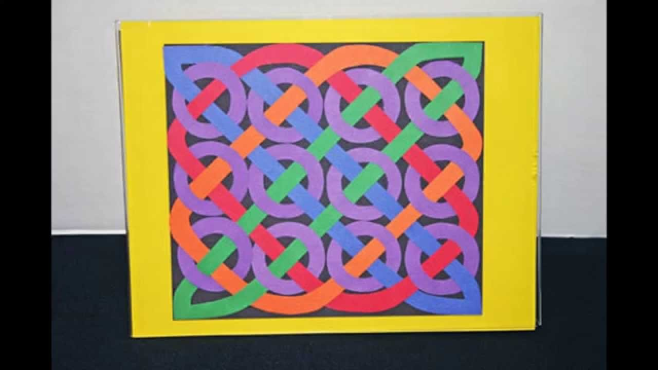 Arts and crafts with construction paper - Home Art Design Decorations