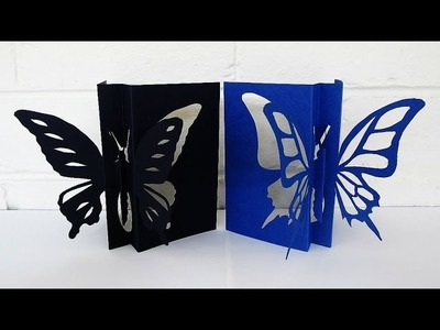 Butterfly card - learn how to make this butterfly craft from a template - EzyCraft