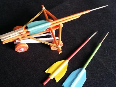 Comment faire une baliste | paper toy