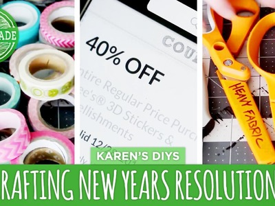 Crafting.DIY New Years Resolutions for 2015 - HGTV Handmade