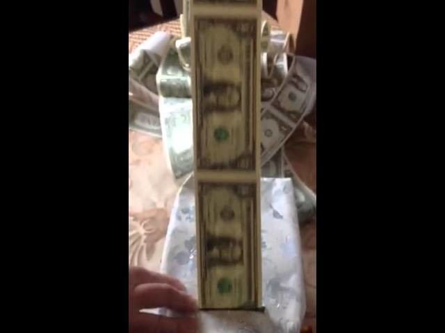 Creative Wedding Gift Roll Of Money