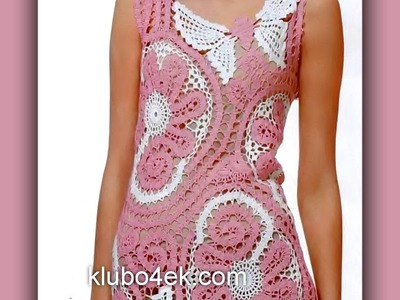 Crochet| dress |simplicity patterns| 81