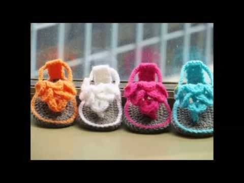 Crocodile St Baby Sandals or Booties, Crochet Pattern, 0 12 months
