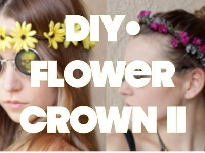 DIY • Flower crown II