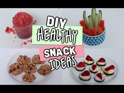 DIY Healthy Snacks For Spring.Summer!