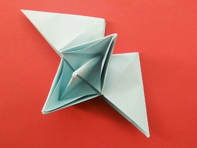 Easy Origami - Paper Flying Boat.