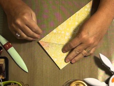 Folded Pocket Tutorial for Junk Journals