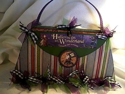 Halloween In Wonderland Purse Mini Album