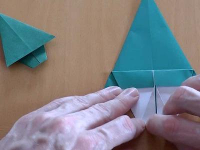 How do i fold a christmas tree? Origami tutorial