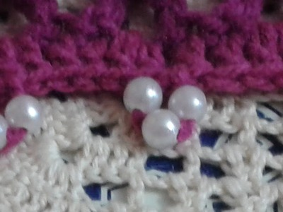How Picot Crochet with Beads  Video Tutorial - Lesson 1