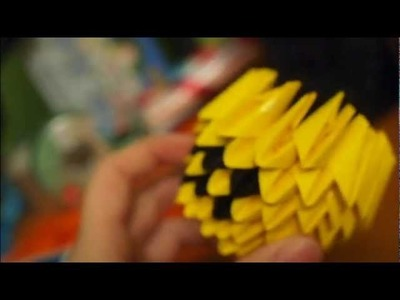 HOW TO - 3D Origami Pikachu