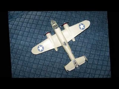 How to make a cool -  MITCHELL  B-25 BOMBER   Paper  Airplane Model