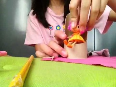 How to make a mini Lalaloopsy chair: Easy: by Scarlet