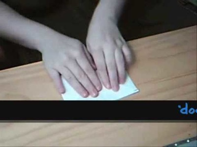 How to make an envelope without using scissors