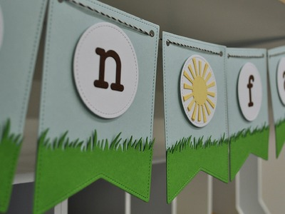 Intro to Stitched Party Banners + Louie's ABCs and 123s + a banner from start to finish