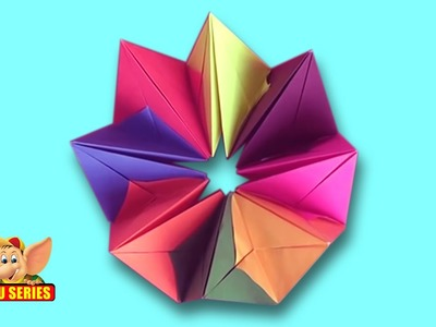 Learn to Make a Crown - Origami