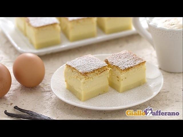 Magic cake - recipe