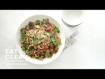Make-Ahead Soba Salad with Charred Eggplant  - Eat Clean with Shira Bocar