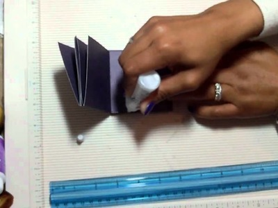 Meandering Mini Album With a Twist - Tutorial Part 1 of 2