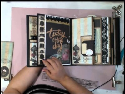 My Design Mini - How to decorate the pages Part 1