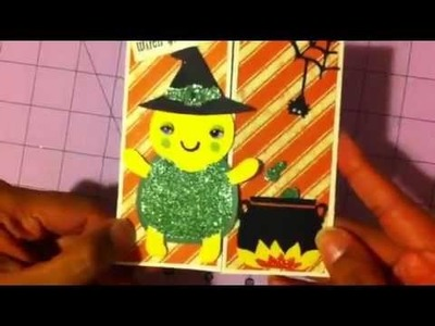 New Create a critter 2 card 3 cricut halloween