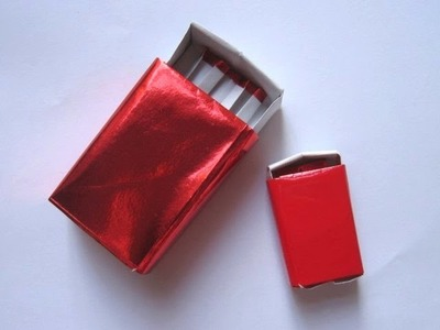 Origami Matchbox by David Brill (Part 1 of 2)