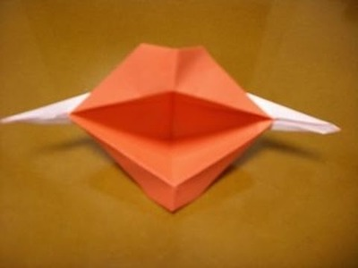 Origami talking lips