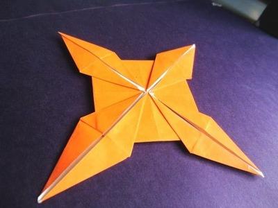 Paper art craft - new ninja star