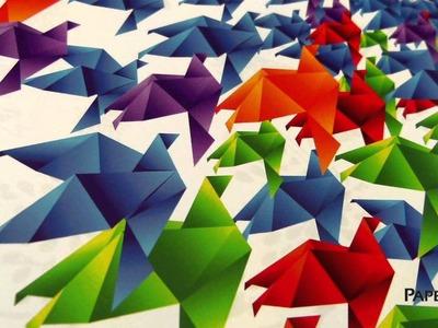 Paper Inspiration #187: Origami Calendar