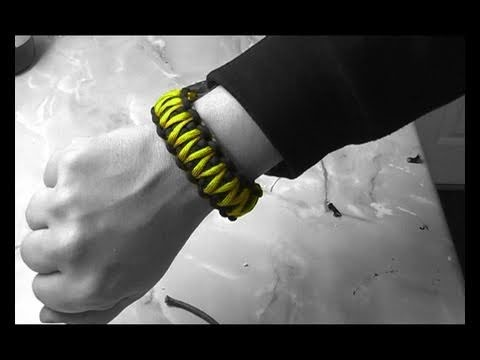 Paracord Bracelet - The Next Generation - King Cobra Knot